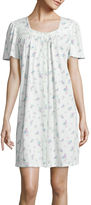 Earth Angels Flutter-Sleeve Nightgown