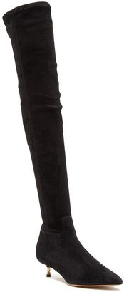Valentino Over The Knee Suede Boot