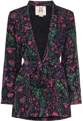 Figue Akila floral print kimono jacket