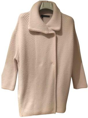 360 Sweater Ecru Wool Knitwear for Women