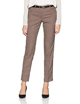 More & More Women's Konfektionshose Slim Trousers,(Manufacturer Size: )