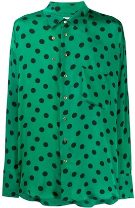 Magliano Polka Dot Print Shirt