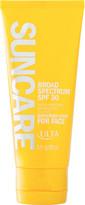Ulta Suncare Broad Spectrum Sunscreen Lotion For Face SPF 30