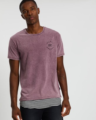 Silent Theory Trimmed Layered Tee