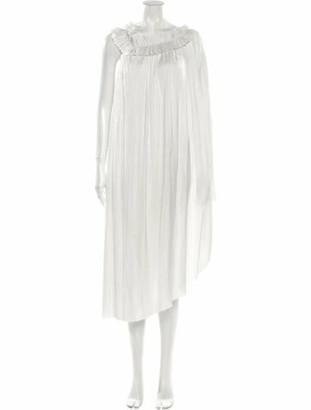 Ulla Johnson Bateau Neckline Midi Length Dress w/ Tags Grey