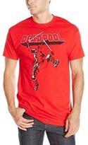 Marvel Men's Deadpool Dancing Pose Men's T-Shirt