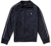 Ralph Lauren Little Girls 2T-6X French Terry Track Jacket