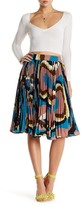 Gracia Multicolor Accordion Pleat Skirt