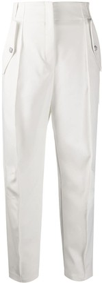 Pinko High Waisted Tapered Trousers