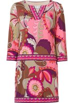 Trina Turk abstract print short dress