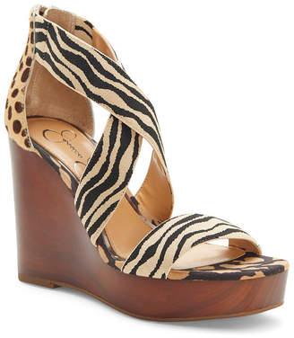 Jessica Simpson Siana Platform Wedge Sandals Women Shoes