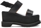 Givenchy Leather Ursa Flatform Sandals