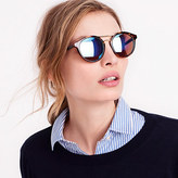 J.Crew Factory Round sunglasses with metal top bar