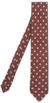 Peckham Rye Diamond Print Wool Tie