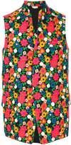 Comme des Garcons floral print waistcoat
