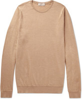 John Smedley - Norland Cashmere And Silk-blend Sweater