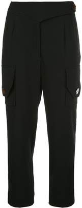Nicholas cropped cargo trousers