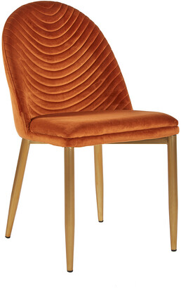 Statements By J Set Of 2 Wave Upholstered Dining Chair