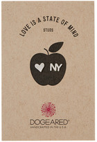 Dogeared Sterling Silver Love is a State of Mind Stud Earrings - New York