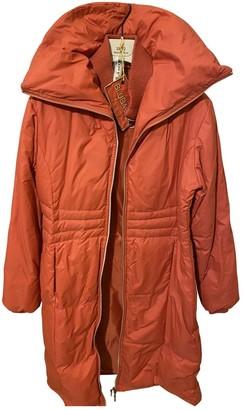 Basile Orange Coat for Women