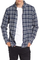 Naked & Famous Denim Men's Regular Fit Plaid Flannel Shirt