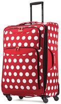 American Tourister 28 Inch Four-Wheel Polka Dot Luggage Bag