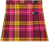 Gucci Children's tartan wool skirt