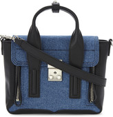 3.1 Phillip Lim Petite Pashli mini denim satchel