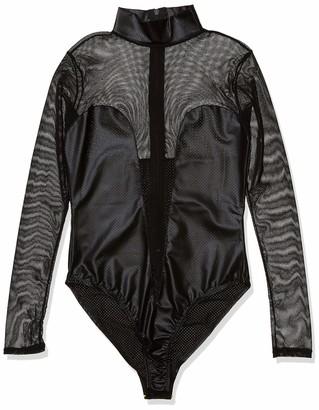 Forplay Women's Stimulate Long Sleeve Lingerie Bodysuit