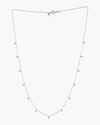 Ashley Morgan White Diamond Station Necklace