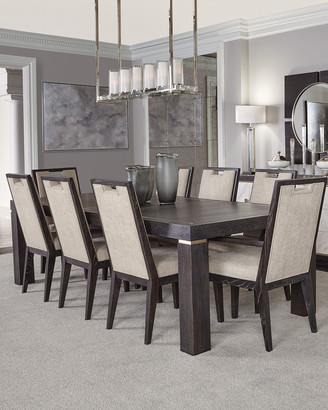 Bernhardt Decorage Stainless Trim Dining Table
