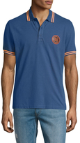 Love Moschino Cotton Embroidered Logo Polo