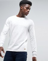 Esprit 100% Cotton Knitted Jumper With Marl Detail