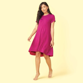 Summersalt The Cool Off Cover-Up - Orchid & Hibiscus