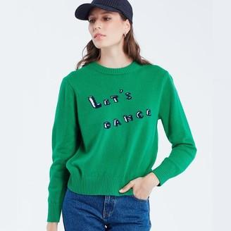 Maison Labiche Lets Dance Sweater Green - L