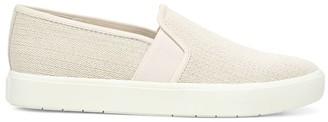Vince Blair Linen Slip-On Sneakers