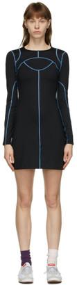 Eckhaus Latta Black Atomic Sport Dress