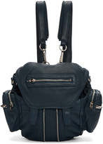 Alexander Wang Blue Mini Marti Backpack