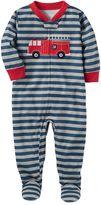 Carter's Baby Boy Fire truck Sleep & Play