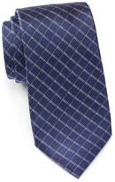 Vince Camuto Adams Windowpane Silk Tie