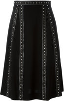 Altuzarra studded trim skirt