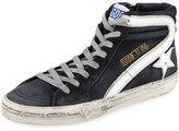 Golden Goose Deluxe Brand Suede High-Top Sneaker, Navy