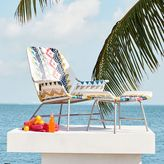 west elm All-Weather Wicker Colorblock Woven Lounge Chair – Large (Multi)