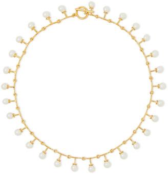 Noir Gold-tone Faux Pearl Necklace