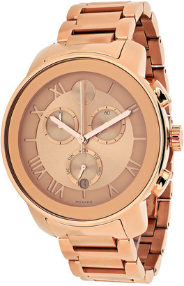 Movado Women's Bold Stainless Steel Chronograph Watch