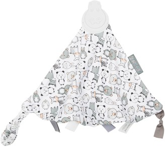 Kalencom Cheeky Chompers Panda Pals 2-in-1 Teether and Sensory Blanket