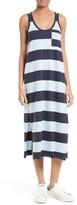 ATM Anthony Thomas Melillo Women's Stripe Mercerized Jersey Dress