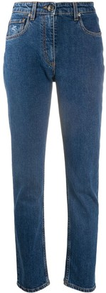 Etro High Rise Slim Fit Jeans