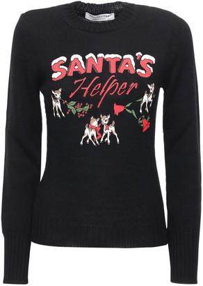 Philosophy di Lorenzo Serafini Santa's Little Helper Knit Wool Sweater
