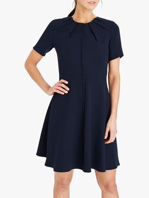 Damsel in a Dress Bella Button Dress, Navy
